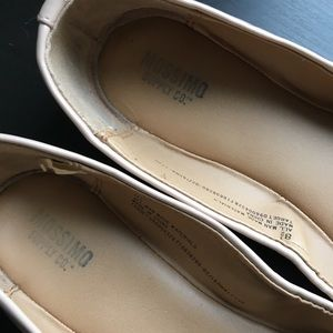 Mossimo Supply Co. Shoes - Nude Patent Leather Style Flats Beige Target Shoes